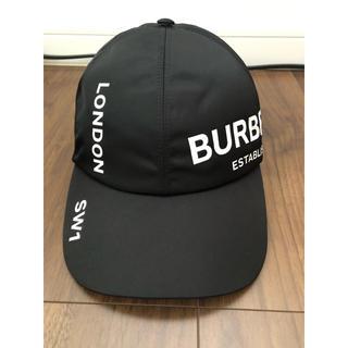 BURBERRY - バーバリーロンドン ベースボールロゴキャップ リカルドティッシ