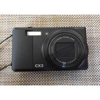 リコー(RICOH)のRICOH(リコー)CX2 メモリーカード、ケース付(コンパクトデジタルカメラ)