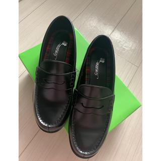 新品未使用!学生靴の定番☆スクールローファー☆通学☆入学☆黒3E防臭シート使用