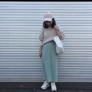 mite  プリーツスカート