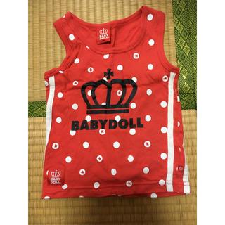 ベビードール(BABYDOLL)のBABY DOLLタンクトップ 90(Tシャツ/カットソー)