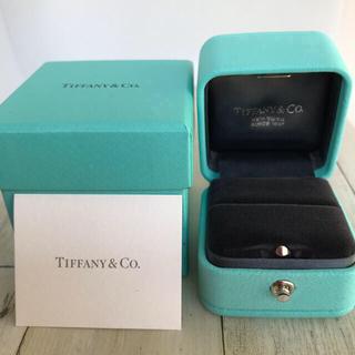 Tiffany & Co. - ティファニー エンゲージ リングケース 空箱 ギャランティ カード