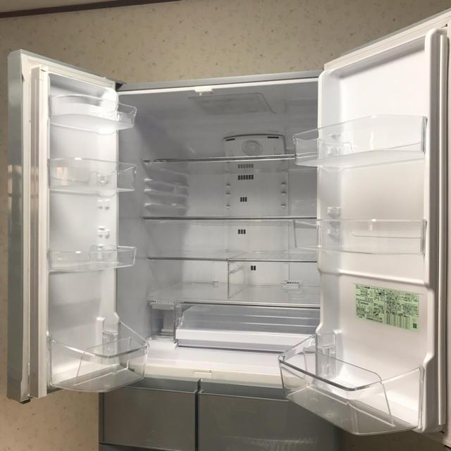 日立(ヒタチ)の日立 冷凍 冷蔵庫 6ドア 505L スマホ/家電/カメラの生活家電(冷蔵庫)の商品写真