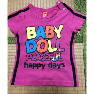 ベビードール(BABYDOLL)のBABY DOLLシャツ90(Tシャツ/カットソー)