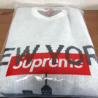Supreme - Supreme New York Sweater 20ss L
