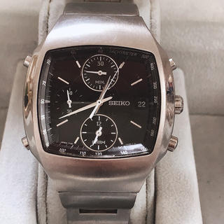 セイコー(SEIKO)のSEIKO クロノグラフ 腕時計(金属ベルト)
