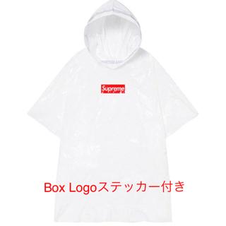 シュプリーム(Supreme)のsupreme ballpark poncho ポンチョ boxステッカー付き(ポンチョ)