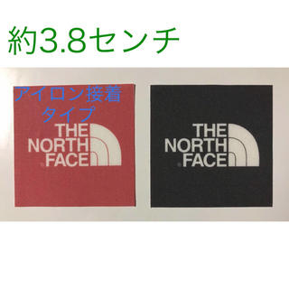 THE NORTH FACE - THE NORTH FACE ワッペン 中 2枚