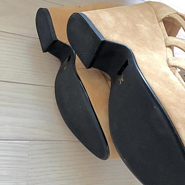 SLY(スライ)のSLY レースアップサンダル レディースの靴/シューズ(サンダル)の商品写真