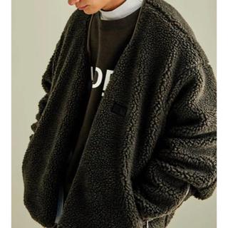 stein reverse boa jacket シュタイン