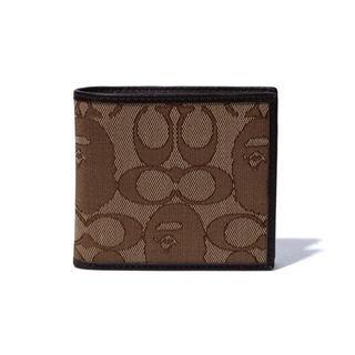 アベイシングエイプ(A BATHING APE)のBAPE × COACH COIN WALLET コインウォレット 財布(折り財布)