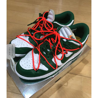 NIKE - NIKE off white dunk パイングリーン THE TEN 29cm