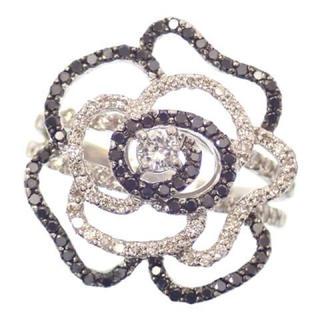ダイヤモンド  リング  K18 ブラックダイヤ 指輪(リング(指輪))