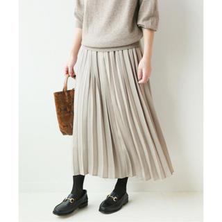 JOURNAL STANDARD - 【新品】JOURNAL STANDARD relume サテンプリーツスカート