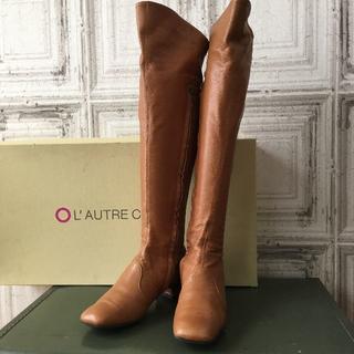 ロートレショーズ(L'AUTRE CHOSE)のイタリア製 L'AUTRE CHOSE ロートルショーズ ブーツ USED(ブーツ)