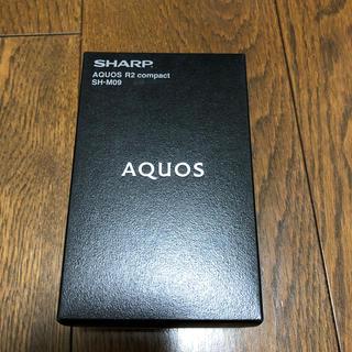 SHARP - SHARP AQUOS R2 compact SH-M09 白