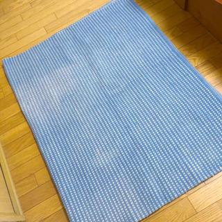 unico - unico ウニコ ラグ 180×120 ブルー