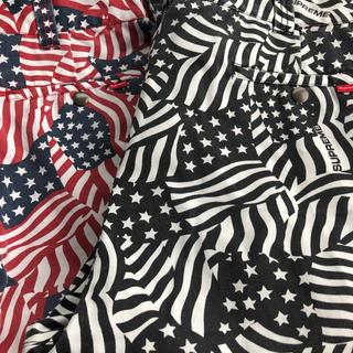 Supreme - SUPREME 2020ss 立ち上げ work pant 34 国旗パンツ