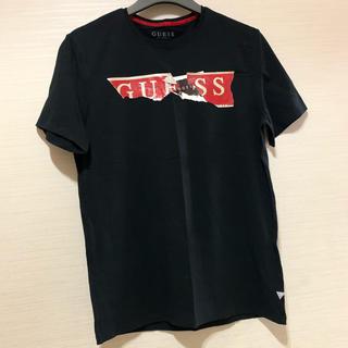 ゲス(GUESS)のGUESSメンズ。ロゴプリント Tシャツ。美品!(Tシャツ/カットソー(半袖/袖なし))