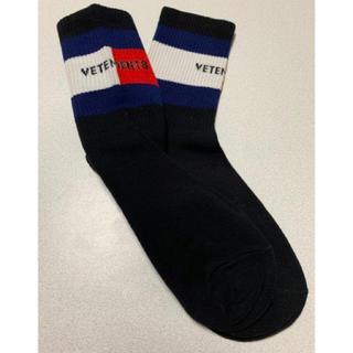 vetements ヴェトモン ソックス 靴下 黒 ブラック