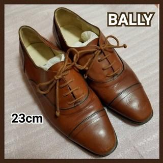 バリー(Bally)のBALLY 革靴 紐靴 ブラウン サイズ36  23㎝(ローファー/革靴)