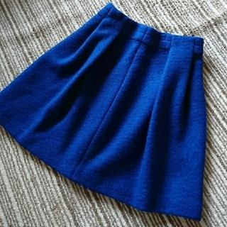ルカ(LUCA)のブルー スカート(ミニスカート)