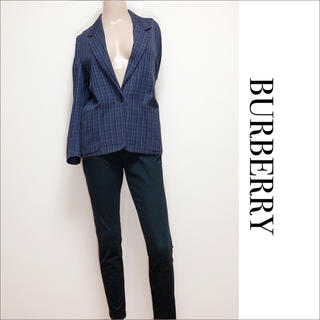 BURBERRY - BURBERRY テーラードジャケット 羽織り♡ルネ フォクシー CHANEL