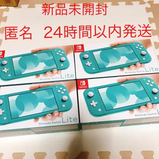Nintendo Switch - ニンテンドースイッチライト ターコイズ switch lite 任天堂 4台
