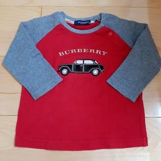 BURBERRY - BURBERRY❣️長袖Tシャツsize80