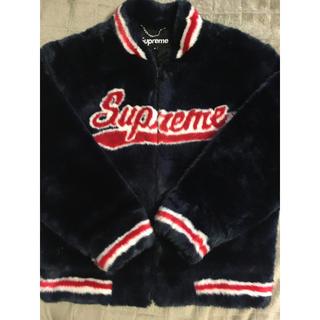 Supreme - Supreme Faux Fur Varsity Jacket ファージャケット