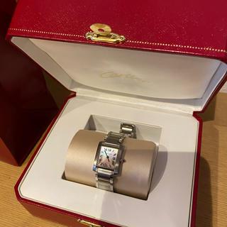 Cartier - 【未使用に近い】カルティエ 人気モデル タンクフランセーズ
