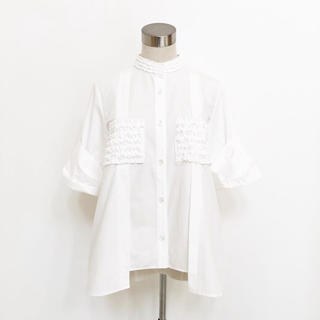 ENFOLD - it_japan 日本製/完売品/フリルシャツ