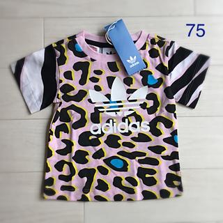 adidas - 【大人気完売モデル】アディダス オリジナルスのレオパード柄Tシャツ
