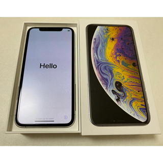 iPhone - 中古 iPhone XS 64GB au シルバー SIMロック解除済み