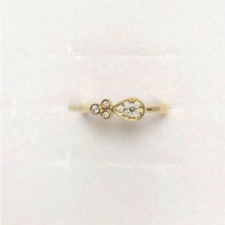 JEWELRY TSUTSUMI - 美品☆ツツミ K18YG ダイヤモンドリング 9号