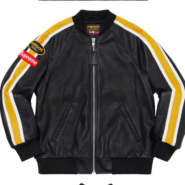 Supreme(シュプリーム)のSupreme®/Vanson Leathers® Jacket supreme メンズのジャケット/アウター(レザージャケット)の商品写真
