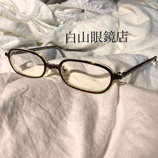 BEAMS - 白山眼鏡店 メガネ 度あり