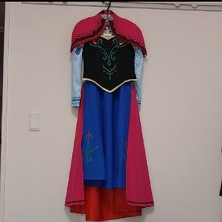 アナトユキノジョオウ(アナと雪の女王)の難あり アナと雪の女王 衣装 XS(衣装)