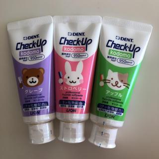 LION - チェックアップ こども 歯磨き粉