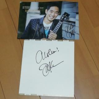 JAKE SHIMABUKUROの直筆サインとサイン付ポスター(その他)