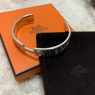 Hermes - HERMES トゥアレグ族 バングル T4 新品
