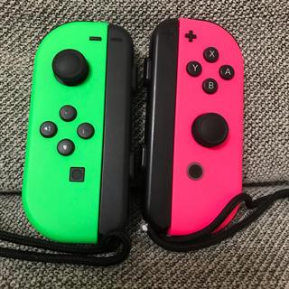 Nintendo Switch - 任天堂Switch ジョイコン スプラトゥーンカラー