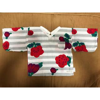 ソウソウ(SOU・SOU)の専用のお品        sou・souわらべき 伊勢木綿 袖付き しかくい S(Tシャツ/カットソー)
