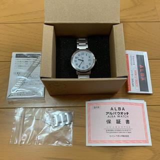 アルバ(ALBA)のALBA アルバ 腕時計 レディース シルバー 状態良好(腕時計)