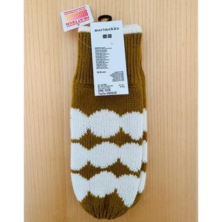 マリメッコ(marimekko)の【未使用】marimekko × UNIQLO -手袋-(手袋)