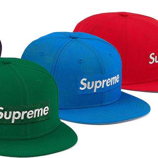 Supreme - Supreme New Era Box Logo 青 blue