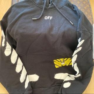 OFF-WHITE - Off-White スプレー パーカー