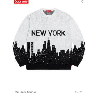 Supreme - supreme new york sweater ニューヨーク セーター M