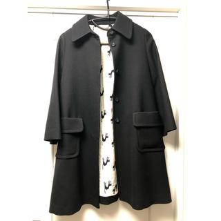 ニーム(NIMES)のニーム Nîmes ヤマトドレス コート 黒(ロングコート)