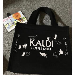 カルディ(KALDI)の☆カルディ☆ネコの日バッグ(トートバッグ)